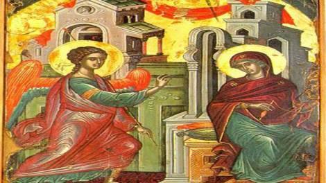 Ο Ευαγγελισμός της Θεοτόκου - Μητροπολίτης Ναυπάκτου Ιερόθεος