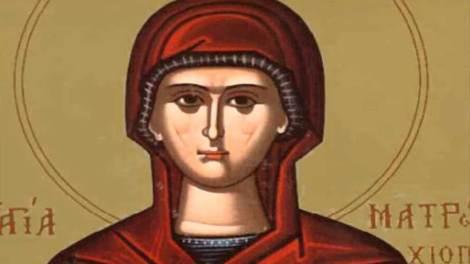 Σήμερα εορτάζει η Αγία Ματρώνα η εν Θεσσαλονίκη