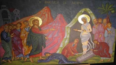Ορθόδοξος Συναξαριστής Σάββατο 31 Μαρτίου 2018, Η Ανάσταση του Λαζάρου