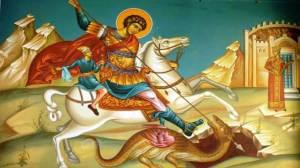 Ο Κατεξοχήν στρατιωτικός Άγιος είναι ο Άγιος Γεώργιος, Μεγαλομάρτυς, Ταξιάρχης, Καλλίνικος και Τροπαιοφόρος.