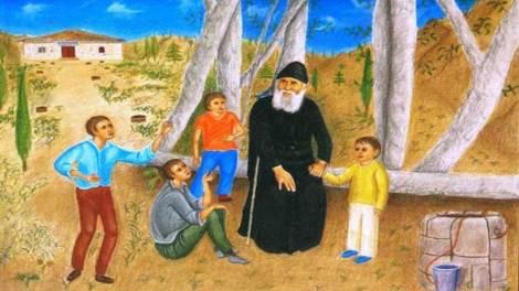 Ο Άγιος Γέροντας Παΐσιος περιγράφει πως γινόταν η προσευχή του φαγητού στο σπίτι του