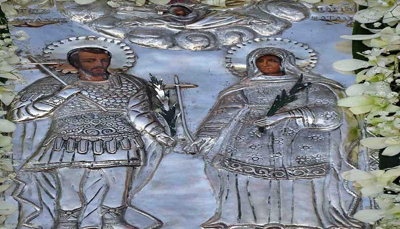 Ορθόδοξος συναξαριστής 26 Αυγούστου, Άγιοι Ανδριανός και Ναταλία