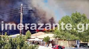 Ζάκυνθος: Μεγάλη πυρκαγιά - Απειλείται το Μοναστήρι του Αγίου Διονυσίου ΒΙΝΤΕΟΖάκυνθος: Μεγάλη πυρκαγιά - Απειλείται το Μοναστήρι του Αγίου Διονυσίου ΒΙΝΤΕΟ