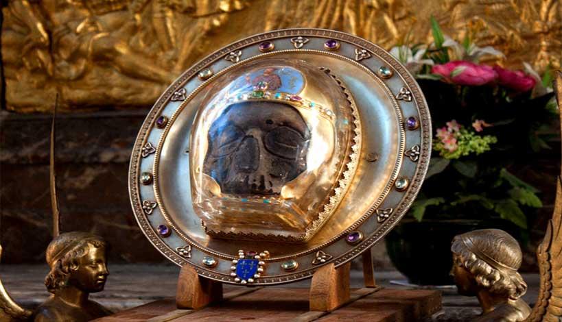 Πού βρίσκεται σήμερα η κεφαλή του Αγίου Ιωάννη του Προδρόμου;