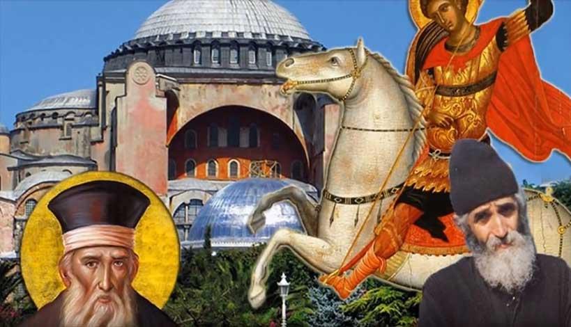 Αποτέλεσμα εικόνας για Άγιος Παΐσιος: «Πριν τον αντίχριστο η Αναλαμπή της Ορθοδοξίας»