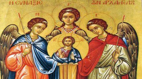 Οι άγιοι άγγελοι του Θεού