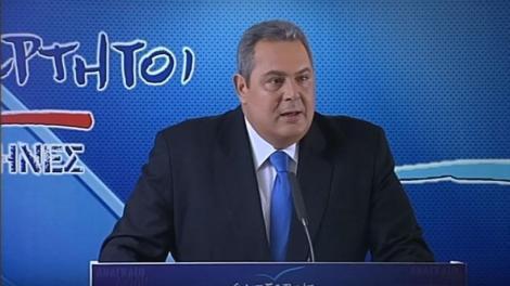 Καμμένος για κυπριακή ΑΟΖ: Να ενεργοποιήσει η Ευρώπη τα άρθρα για κοινή ευρωπαϊκή άμυνα