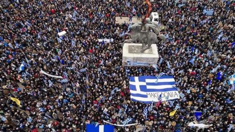 Εκπρόσωπος συλλαλητηρίου για τη Μακεδονία: Αστειότητες τα περί χρηματοδότησης από τη Μόσχα