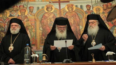 Τι είπε ο Αρχιεπίσκοπος Ιερώνυμος στη Διαρκή Ιερά Σύνοδο - Δείτε την εισήγηση του Αρχιεπισκόπου Ιερώνυμου