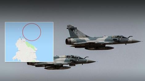Πτώση ελληνικού Mirage 2000-5 στο βόρειο Αιγαίο