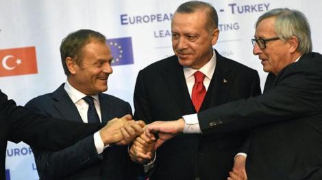 Τι είπε ο Ρ.Τ. Ερντογάν για κυπριακή ΑΟΖ στους εμβρόντητους Γιούνκερ και Τουσκ στην Βάρνα