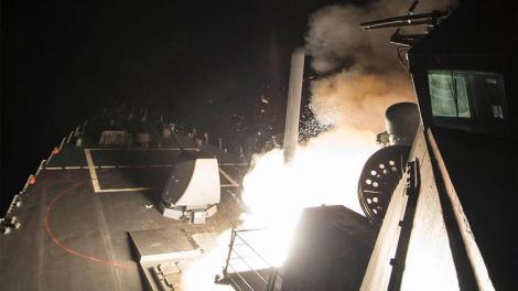 Πυραυλικό χτύπημα στη Συρία