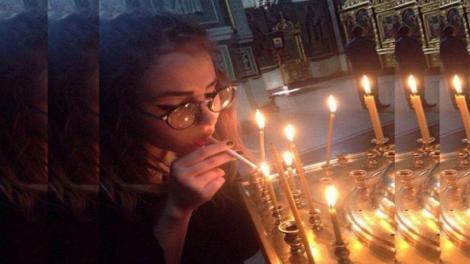 Αφορίστηκε κοπέλα στην Κύπρο γιατί άναψε τσιγάρο με το Άγιο Φώς;