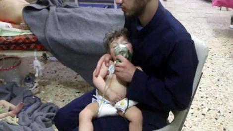 Η Ρωσία κατηγορεί τη Βρετανία για «προβοκάτσια» στη Γούτα της Συρίας με «σκηνοθετημένη» επίθεση με χημικά όπλα
