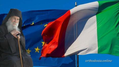 Italexit : Κλυδωνίζεται το ευρώ - Τι είχε πει ο γέροντας Ιωσήφ Βατοπεδινός