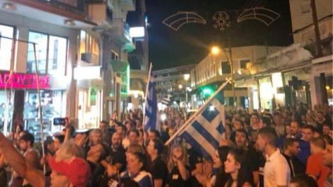 Σέρρες: Πολίτες έστησαν κρεμάλες και έβριζαν βουλευτές των ΣΥΡΙΖΑ - ΑΝΕΛ