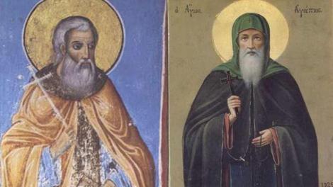 Αγιορείτες Άγιοι Μνήμη 5 Ιουνίου, Όσιοι Αγάπιος και Νικόδημος οι δοχειάριοι