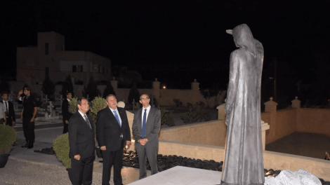 Κύπρος: Αποκαλυπτήρια του μνημείου «Μάνα των Αγνοουμένων»