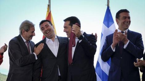 Συμφωνία Πρεσπών : Έφθασε η ρηματική διακοίνωση από τα Σκόπια - Αναζητείτε ο 151ος βουλευτής