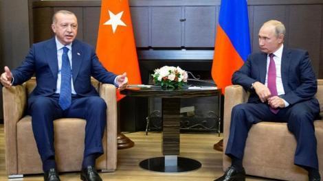 Συμφωνία κορυφής Πούτιν - Ερντογάν
