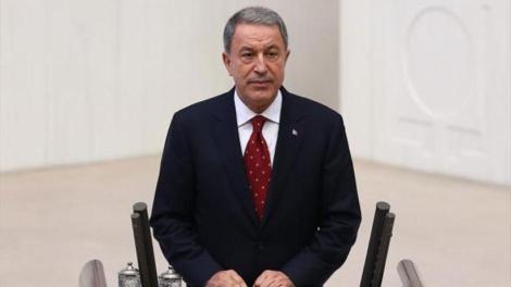 Τούρκος υπ. Άμυνας: Θα λάβουμε όλα τα απαραίτητα μέτρα αν απειληθούν τα δικαιώματά μας