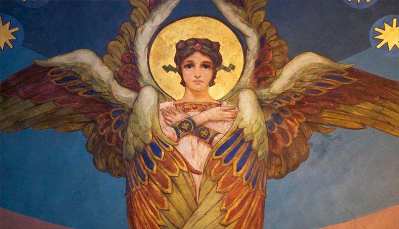 O Άγγελος που φυλά τα ορφανά