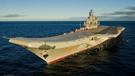 Ένας αγνοούμενος και τέσσερις τραυματίες από ατύχημα στο αεροπλανοφόρο Admiral Kuznetsov
