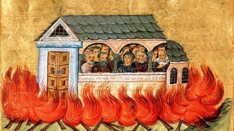 Άγιοι Δισμύριοι-20.000 μάρτυρες που κάηκαν στη Νικομήδεια
