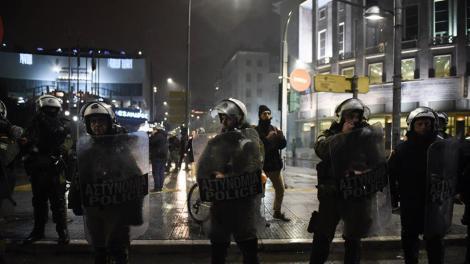 Θεσσαλονίκη: Επεισοδιακή βραδιά λόγω ομιλίας Τσίπρα στην συμπρωτεύουσα