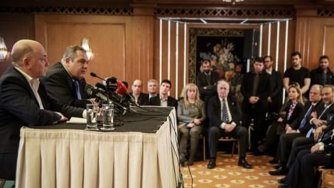 Πάνος Καμμένος : Το όνομα Μακεδονία πάνω από πρόσωπα και καρέκλες