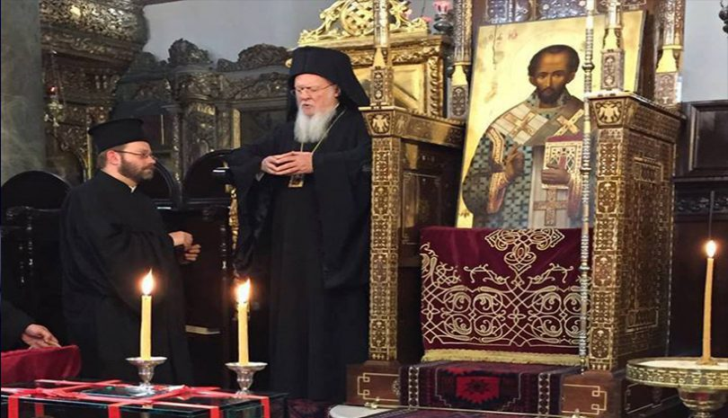 Οικουμενικός Πατριάρχης Βαρθολομαίος: Ομιλία κατά τον Μέγα Εσπερινό της Κυριακής της Τυρινής