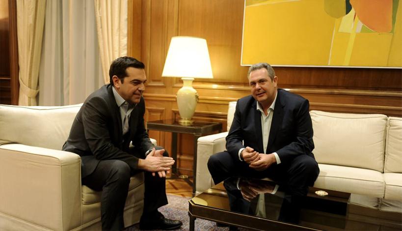 Η εμπλοκή στη Βουλή της ΠΓΔΜ και η συνάντηση Τσίπρα - Καμμένου