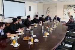 Συνάντηση της Αντιπροσωπείας του Οικουμενικού Πατριαρχείου με τον Υπουργό Παιδείας και Θρησκευμάτων Κων/νο Γαβρόγλου