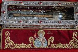 Το Ιερό Λείψανο της Τιμίας Χειρός του Αγ. Σπυρίδωνος από την Κέρκυρα υποδέχθηκε ο Υμηττός