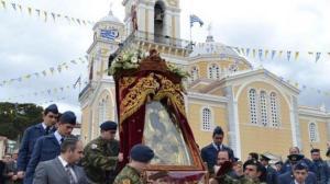 Η Καλαμάτα εόρτασε την πολιούχο Παναγία Υπαπαντή