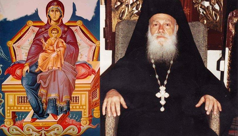 Είδα την Πλατυτέρα μέσα στο Ιερό - Η νεκρανάσταση του π. Ιερόθεου την πρώτη Τετάρτη της Σαρακοστής