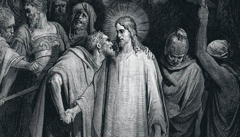 Στον Ιούδα κυριάρχησε αντί του Χριστού το χρήμα, στην πόρνη γυναίκα κυριάρχησε αντί της φιληδονίας η αγάπη του Χριστού