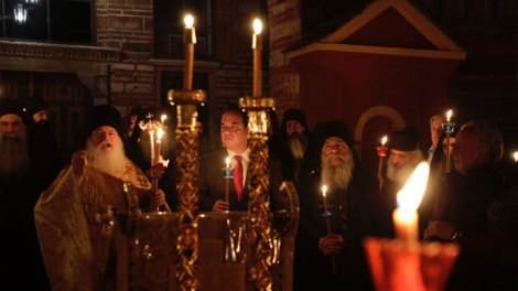 Ανάσταση στο Άγιον Όρος και στην Ιερά Μονή Βατοπαιδίου