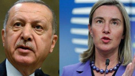 Ερντογάν: «Να είστε έτοιμοι για μια επιχείρηση στη Μανμπίζ» - Μογκερίνι: Η στρατωτική κλιμάκωση στην Ιντλίμπ παραβιάζει το διεθνές δίκαιο