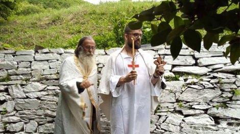 Η Βάπτιση του Θωμά στο Άγιον Όρος