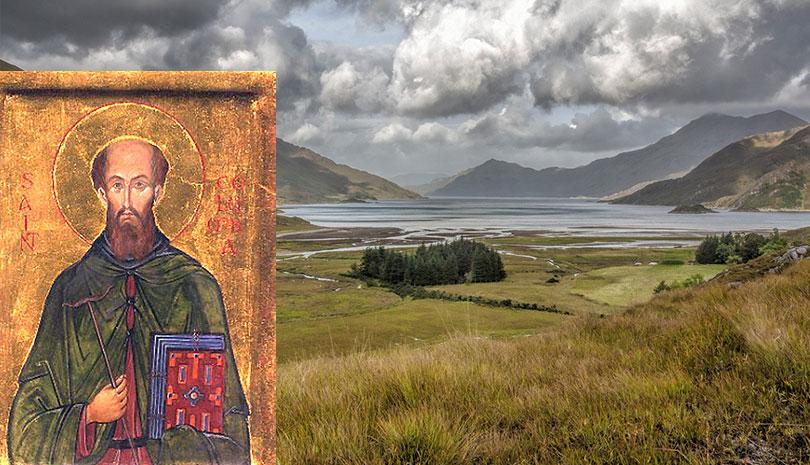 Ο άγνωστος άγιος που γιορτάζει σήμερα, Άγιος Columba φωτιστής της Σκωτίας
