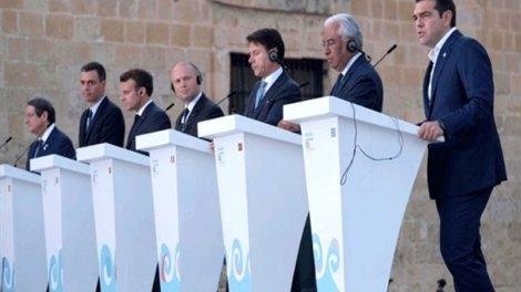 Med7 : O ευρωπαϊκός νότος στηρίζει την Κύπρο