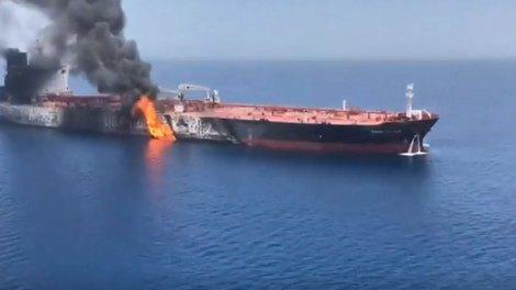 Οι ΗΠΑ κατηγορούν το Ιράν για τις επιθέσεις στον Περσικό Κόλπο - βίντεο ντοκουμέντο