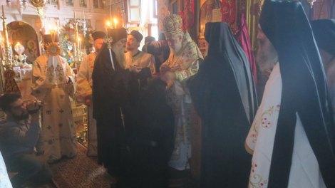 Πανήγυρη των Αγιορειτών Αγίων στο Ιερό Ησυχαστήριο της Αδελφότητος των Δανιηλαίων, στα Κατουνάκια του Αγίου Όρους - Εικόνες