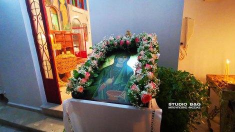 Η εορτή της Αγίας Παρασκευής στα Πυργιώτικα Ναυπλίου, ΒΙΝΤΕΟ