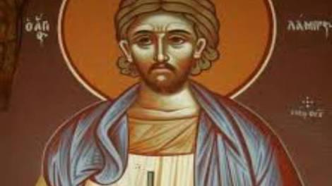 Άγιος Λάμπρος ο νεομάρτυρας εκ Σαμοθράκης, γιορτάζει σήμερα 2 Ιουλίου