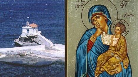 Η Παναγία της Θαλασσινής στην Άνδρο