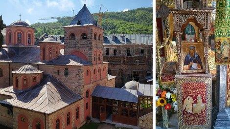 Άγιον Όρος: Πανηγυρίζει η Ιερά Μονή Φιλοθέου