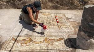 Ισραήλ: Αρχαίο ψηφιδωτό απεικονίζει το θαύμα του πολλαπλασιασμού των ιχθύων και των άρτων του Ιησού