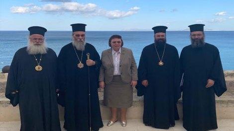 Αντιπροσωπείατης Εκκλησίας Κρήτης συναντήθηκε με την Υπουργό Πολιτισμού
